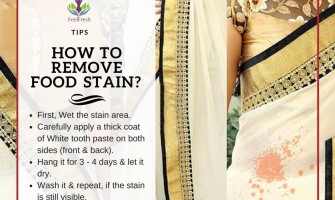 How To Remove Food Stain?