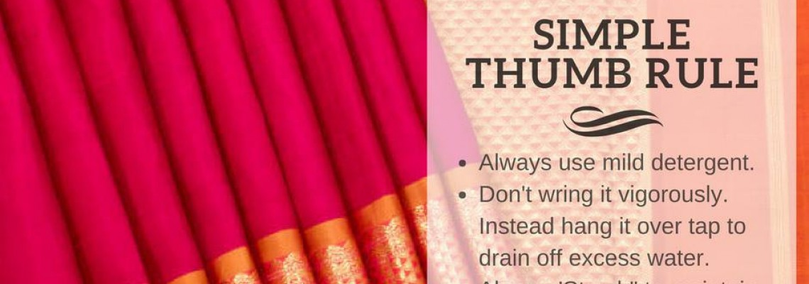 Maintain Cotton Sarees