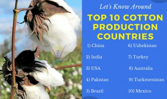 Top 10 cotton production countries
