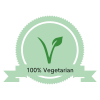 100% Vegatarian