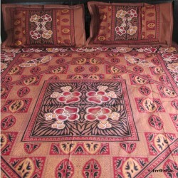 Brown Bed Spread