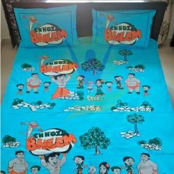 Chhota Bheem Printed Double Bedspread