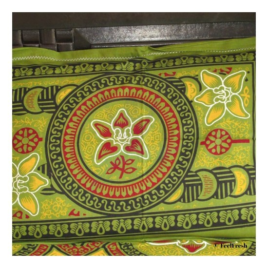 Green Bed Spread