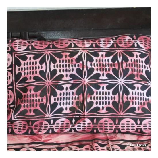 Brown tie-n-dye Bed Spread