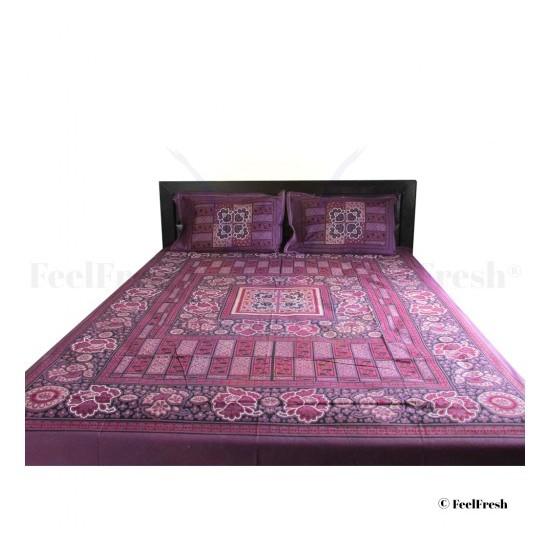 Violet Bed Spread