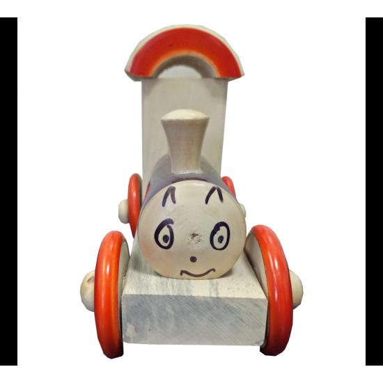 Train Engine Orange